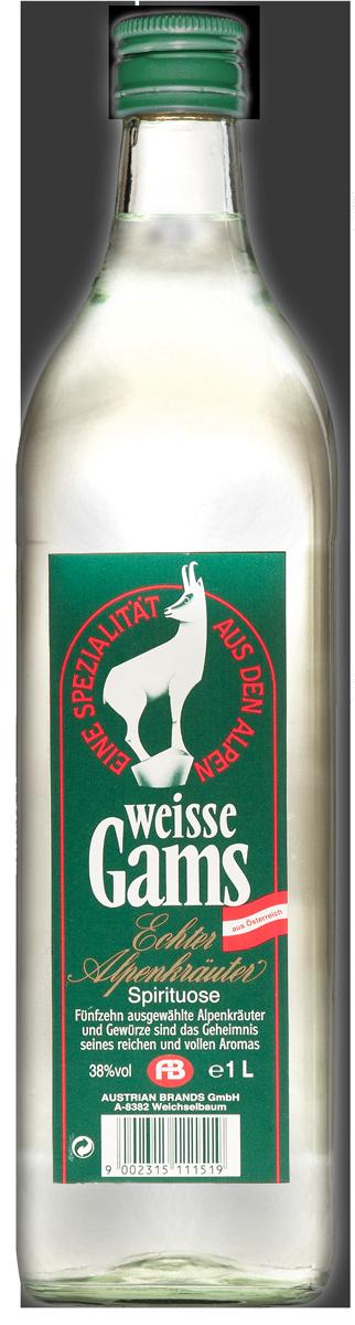 Weisse Gams - Echte Alpenkräuter