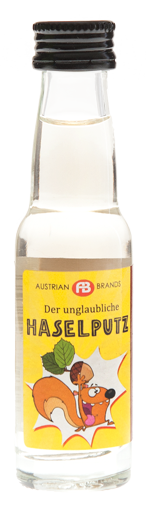 Haselputz - Haselnuss-Spirituose